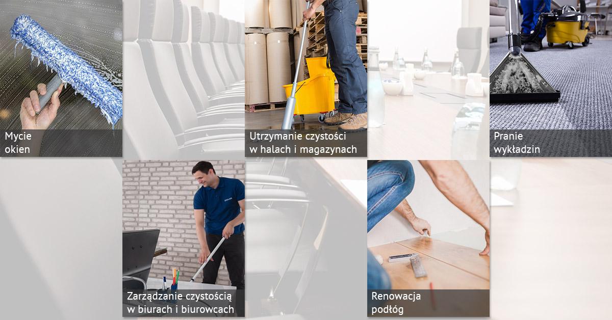 Firma sprzątająca Bewer usługi